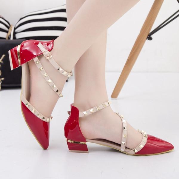 Red Low-Heels