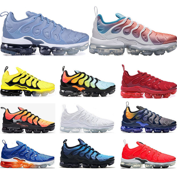 ad9f0c06e85a Cheap Running shoes for mens PURE PLATINUM Rainbow Red China work bule Pink  Sea Volt white black women sports sneaker trainer size 36-45