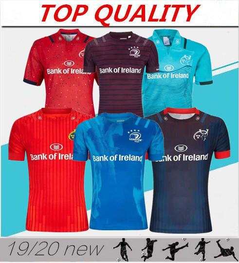 best selling top quality 2019 Munster city Rugby jerseys 19 20 MUNSTER city home away men Rugby-Trikots size S-3XL