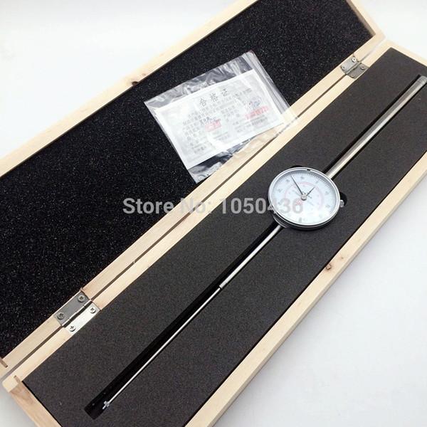 best selling Freeshipping SHAN Dial Indicator 0-100mm 0.01mm Large Range Dial Test Gauge Measuring Tools