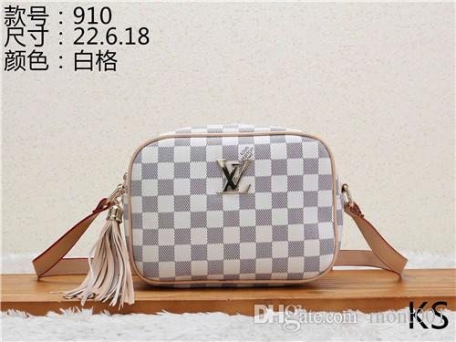 2020 estilos de cuero bolso de la manera mujeres de los bolsos de mano bolsos de hombro de la señora de bolsos de cuero bolso Bolsas KS 910-1 mcut001