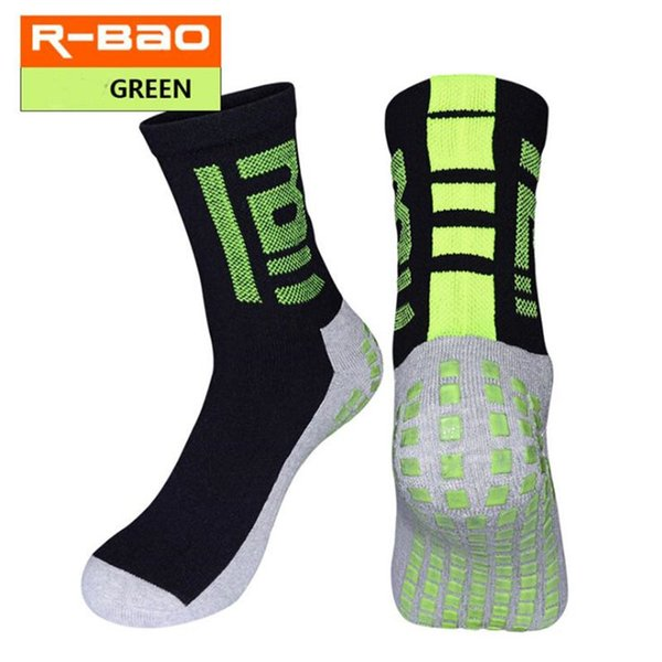 Calcetines cortos de fútbol R-BAO. Tubo deportivo para hombres. Toalla de fondo gruesa. Desgaste antideslizante antideslizante. Calcetines deportivos. Cinco pares de un paquete.