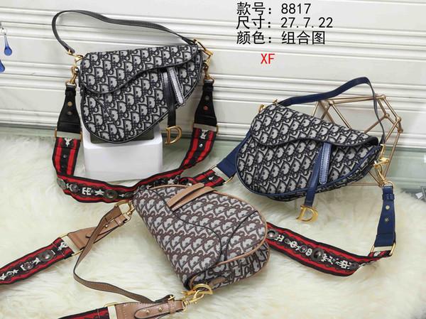 8817 XF El mejor precio de alta calidad de las mujeres señoras solo bolso de mano hombro mochila bolso monedero billetera MMMMMM