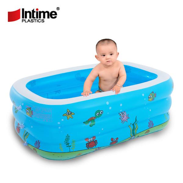 Schwimmbad Baby Aufblasbare Schwimmen Bad Spielzeug Sommer Große 7-9 Menschen Schwimmbäder Umweltfreundliche PVC Tragbare