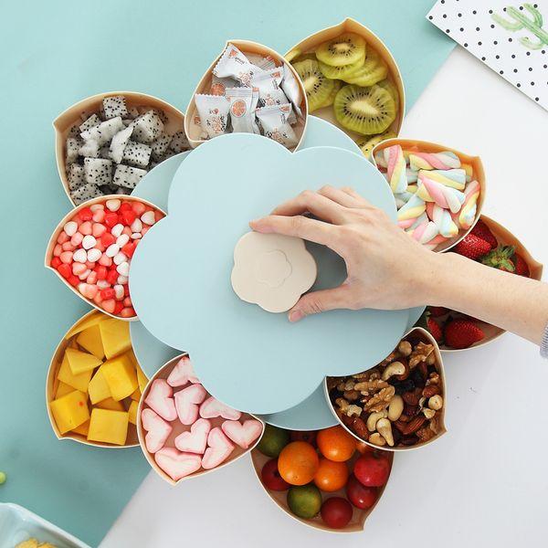 Boîte de rangement en plastique créative pour graines Noix Bonbons Secs Etui à fruits Prune Type Récipient à lunch pour Kid Protect Fruit Case