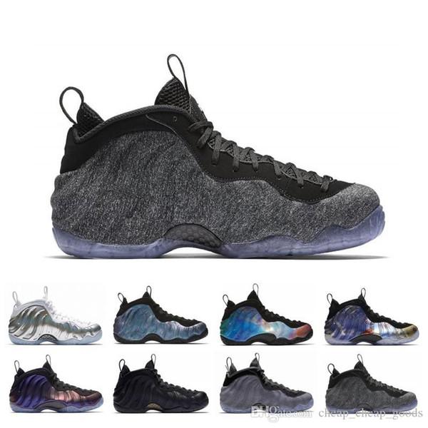 Ucuz Penny Hardaway Erkek Basketbol Ayakkabı Krom Abalone Alternatif Galaxy CNY Patlıcan Erkekler Tasarımcı Eğitmen Spor Spor ayakkabılar