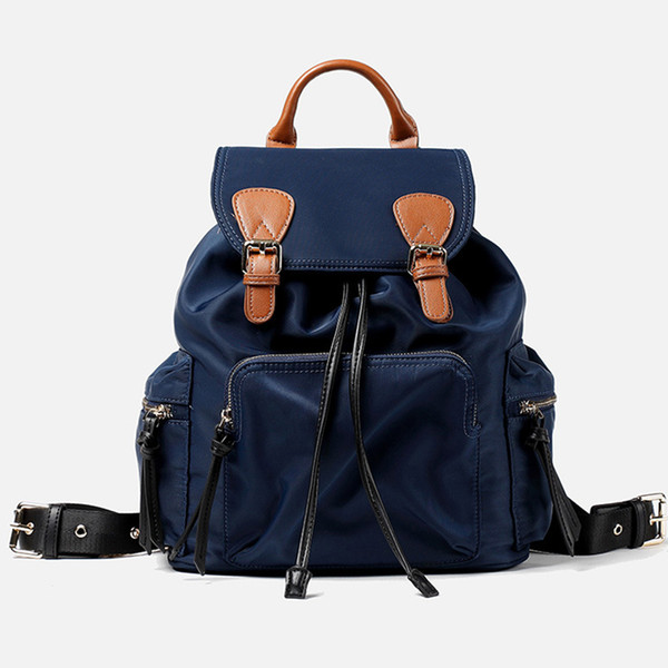 Waterproof Backpack Women Oxford Bags Ladies Winter 2019 Nylon School Bag Female Brond Designer Casual Bag Teenager Girls