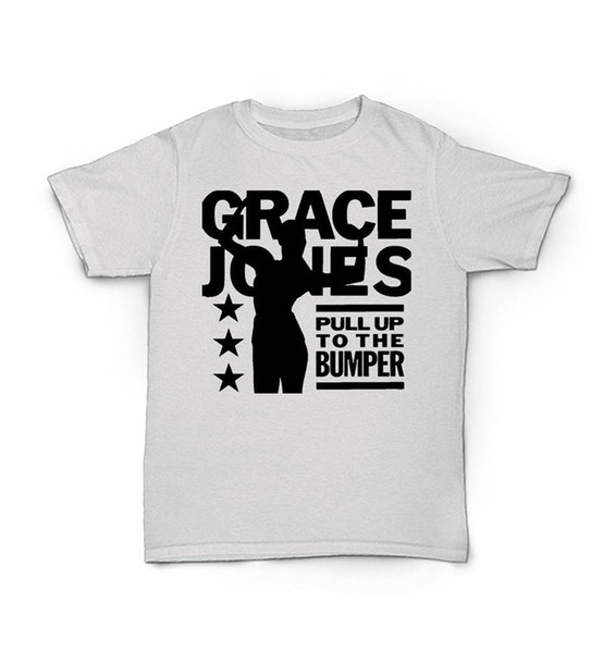 For Hipster Causal Cool Tops Men'S Fashion 2018 Grace Jones Pull Up To The Bumper Short-Sleeve Tees