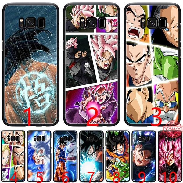 Goku bola de dragão super z dragonball silicone macio preto tpu phone case para samsung a3 a5 2016 2017 a6 além de 2018 capa