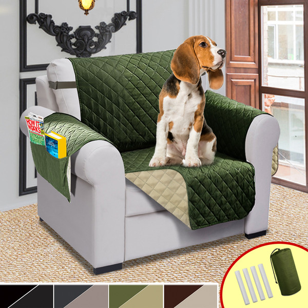 Marvelous Double Side Chair Sofa Cover Elastic Pet Dog Sofa Covers For Living Room Waterproof Couch Recliner Slipcover Furniture Protector Dining Room Chair Ncnpc Chair Design For Home Ncnpcorg