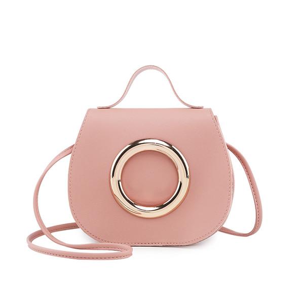Dormeur # 501 2018 Mode féminine en cuir couleur Pure Messenger Sac à bandoulière Poitrine Sac couleur unie cadeaux uniques chaud Livraison gratuite