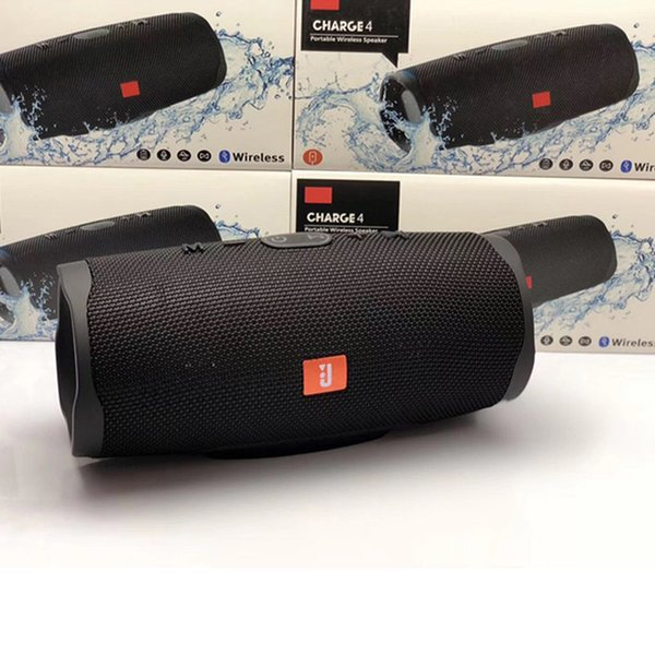 Bluetooth Speaker Portátil taxa de 4 esportes sem fio à prova d'água alto-falante com 20 Stereo horas bateria do telefone Speaker Coluna FM Rádio Música