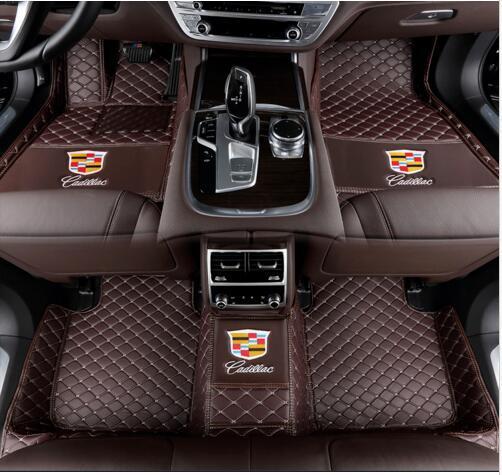 Cadillac-ATS CT6 CTS ELR SRX STS XT5 XTS 2005-2019 tapete do assoalho do carro