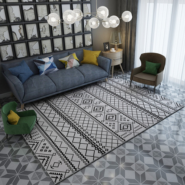 Simple Carpets For Living Room Decorative Carpet Bedroom Home Rug Study  Room Floor Mat Customize Sofa Coffee Table Area Rugs Carpet Depot Cheap  Carpet ...