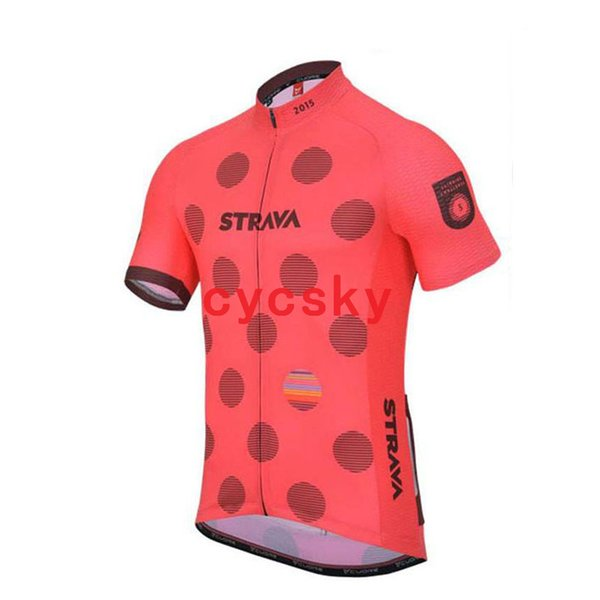 strava2019 Cycling Jersey Summer Short Sleeve Racing Sport Bicycle Clothing Ropa Ciclismo Breathable mtb Bike Jersey Shirt