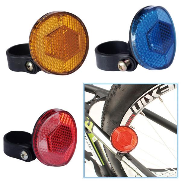 Bicicletta Bicicletta Sicurezza Attenzione Attenzione Catarifrangente Disco posteriore Portapacchi 1PC Bike Light Usb anteriore e posteriore Posteriore # 3S25 #N # 358176