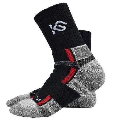 (2 Pairs) High Quality Man Sock Fashion Thick COOLMAX Mens Socks Thermal Towel Bottom Foot Wear Terry Men Socks