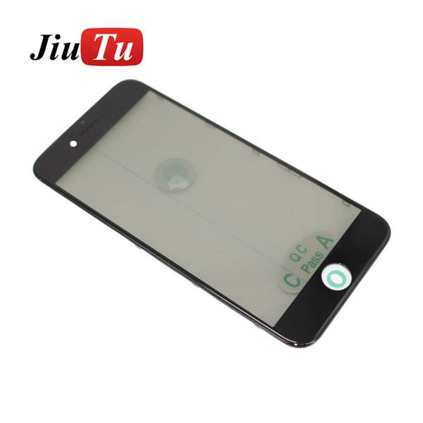 OEM 4 in 1 Front Glass with Frame+ OCA +Polarizer Film Cold Press for iPhone 8G 8 Plus LCD Screen OCA Refurbish Machine