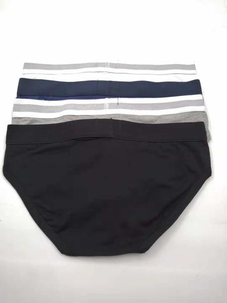 top popular 5pcs lot Mens Briefs Underwear Shorts Fashion Sexy Thong Underwear Casual Short Man Comfortable Male Gay Brief Underwear Slips High Quality 2021