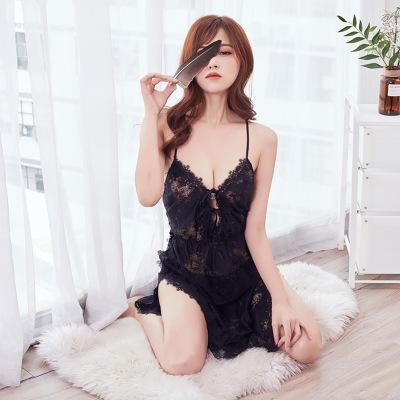 Underwear Sexy Womens lingerie erótica Pajama Moda Ladies Pijamas Tamanho Feminino Sexy Bra Pajama Underwear 858