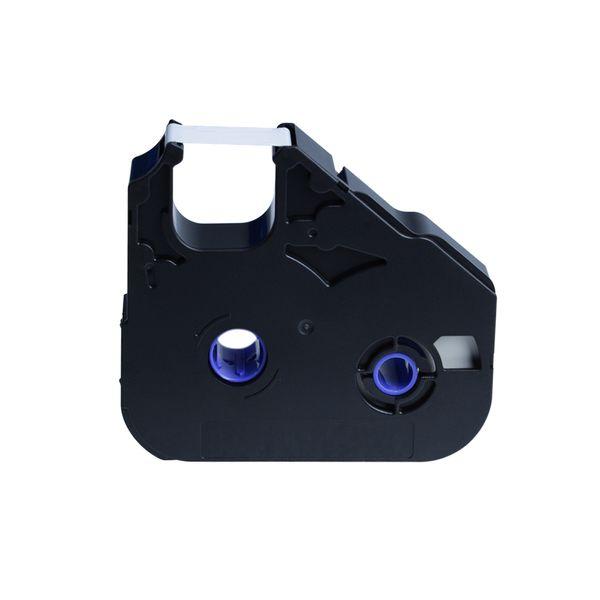 PT-200BK 12mm Black Ink Ribbon Cassette MK-RS100B 3604B001 Cable ID Printer M-11C, M-1STD, M-1PRO,Mk1000, Mk2000, Mk1500
