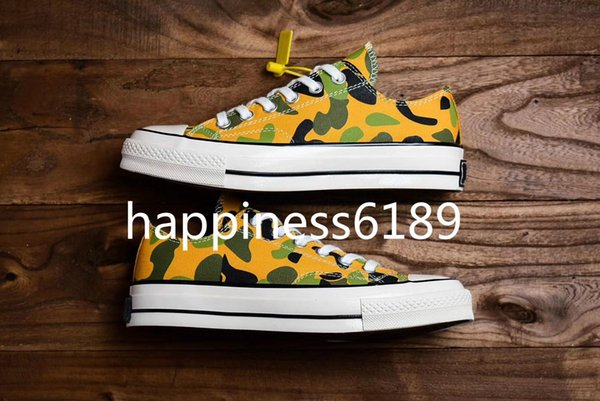 2019 early spring series new color matching 1970 upper with leopard color as the main tone men's and women's vulcanized low-top casual shoes