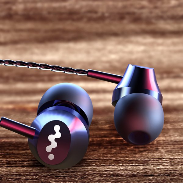 Kopfhörer Kopfhörer mit eingebautem Mikrofon 3,5-mm-In-Ear-Kopfhörer für Smartphones für PC Iphone Xiaomi Huawei