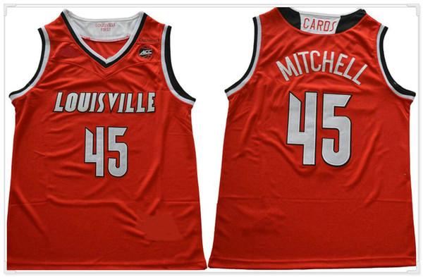Louisville Cardinals # 45 Mitchell -Red