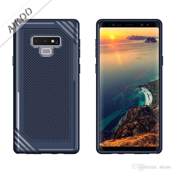 Armor TPU Shockproof Soft Case for Samsung S9 A8 Plus J3 J7 Note 9 iPhone XS MAX XR X 8 7 6 plus LG G7 K 8 10 30 2018 Moto E5 Huawei P20 Opp