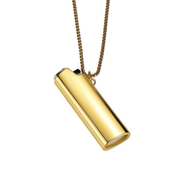 Colorful Necklace Pendant Lighter Shell Sleeve Protective Case Skin Portable Innovative Design For Cigarette Herb Bong Smoking Pipe