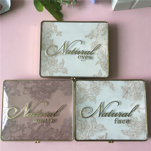 Faced natural face natural eye natural matte eye hadow palette 6 color lace himmer eye hadow makeup hipping