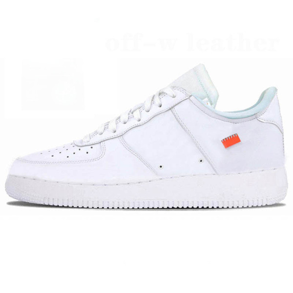 B4 OfffWhite White Leather