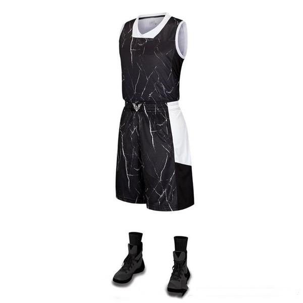Пользовательские Горячие Продажа Дизайн без рукавов Сублимации Полная баскетбольная форма спортивная одежда Удобные Дышащие баскетбольные майки наборы