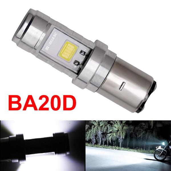best selling 1x H6 BA20D Led Headlight Light BA20D Motorcycle Led Headlight High Low Beam BA20D COB Motorbike Headlight Fog Light Bulb 5.0
