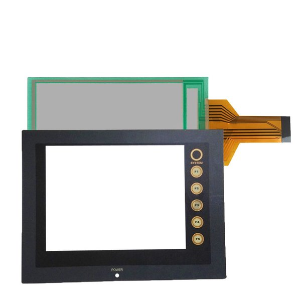 V606CD V606C10 V606EM10 V606EM20 New HMI PLC touch screen panel touchscreen And Front label