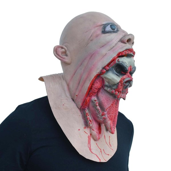 Hot Scary Halloween Party Cosplay Alien Zombie Mask Devil Mask Masquerade Cosplay Dance Party Bioquímica Caps Mask