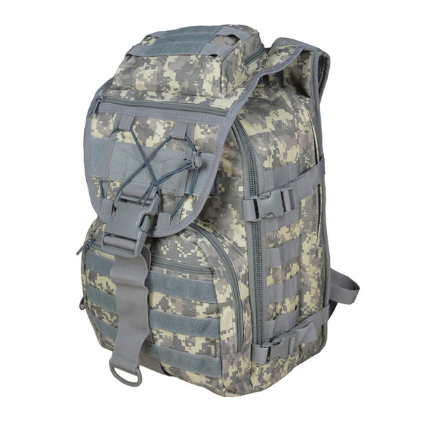 X7 Outdoor Multi-functional Oxford Cloth Tactical Backpack 35L ACU Camouflage