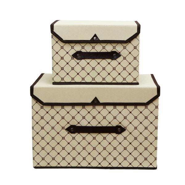 new Foldable Non-woven fabric storage box clothes organizer underwear socks bra books toys storage bins Cosmetics case 2