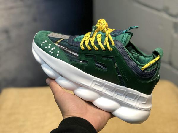 Sellingchainreactionlove chaussures de sport designer de mode sportive chaussures de sport entraîneur lien léger semelles en relief et sacs à la poussière sans boîtes