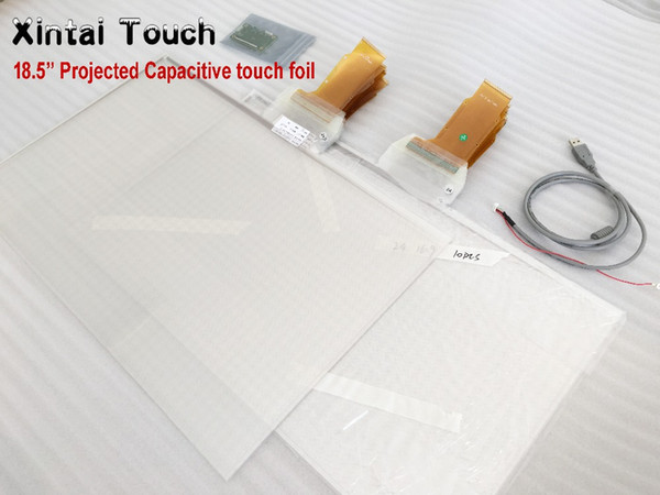 Xintai Touch 18.5 Inch 16:9 Ratio 10 Touch Points interactive foil for kiosk, table etc