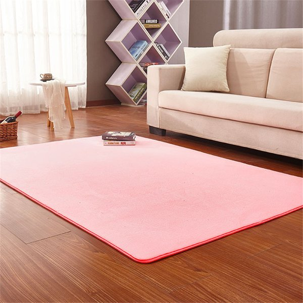Surprising Non Slip Carpet Yoga Rug Thick Coral Fleece Carpet Living Room Coffee Table Blanket Bedroom Bedside Mat Kitchen Absorbent Multi Coloured Carpet Carpet Inzonedesignstudio Interior Chair Design Inzonedesignstudiocom