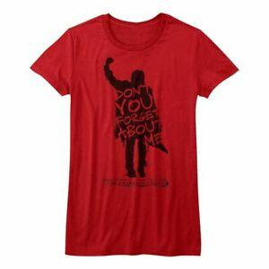 Breakfast Club Never Forget Red Junior Women 039 s Camiseta