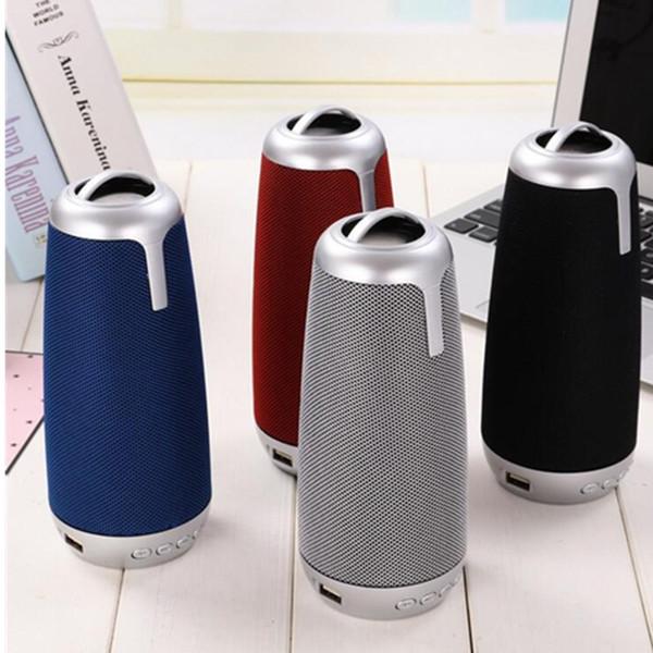 Mini Bluetooth Wireless Speakers War Drums Speaker Outdoor Subwoofer Waterproof Hifi Portable Super Bass MP3 Player Support USB TF Card FM