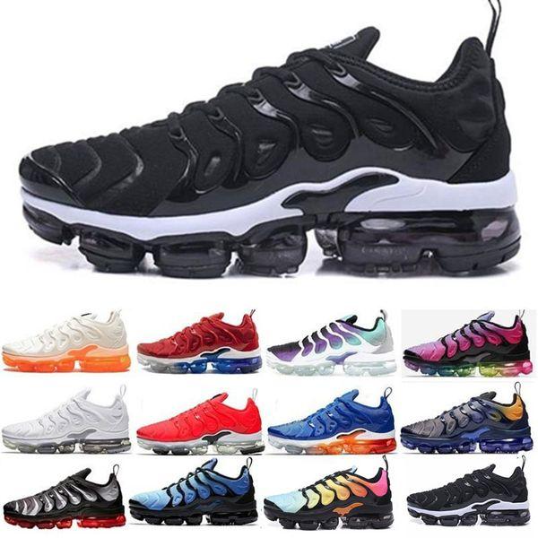 Designer Tn Plus Chaussures De Course Sneakers Hommes Femmes 2019 Bleu Maxing Tns Betrue Neon Triple mode luxe hommes femmes sandales designer