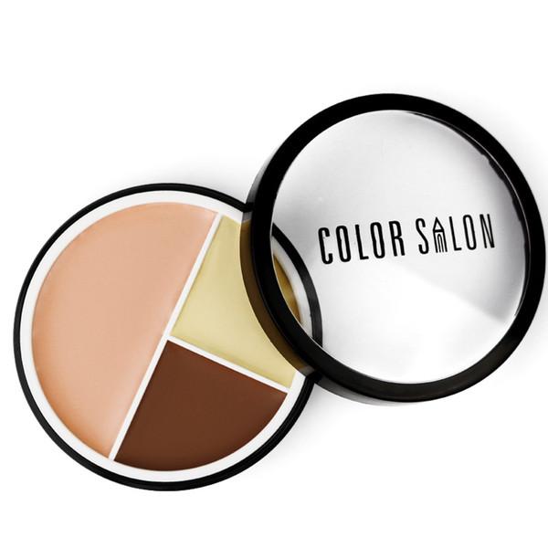 Color Salon Full Cover Face Makeup Concealer Palette Contouring Makeup Maquiagem Profissional Completa Contour Cream Pallete