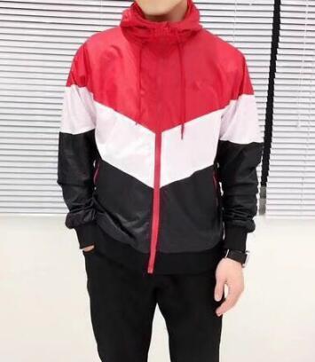 HA mujeres de los hombres capa de la chaqueta de lujo de la camiseta de manga larga con capucha de la cremallera de la marca Deportes otoño rompevientos ropa para hombre sudaderas