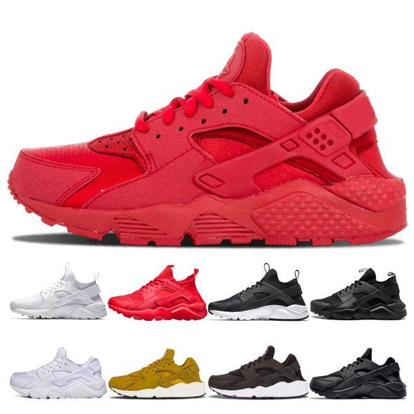Großhandel Nike Air Huarache Shoes Designer Huarache 1.0 4.0 Männer Frauen Laufschuhe Triple Weiß Schwarz Huaraches Zapatos Breathe Huaraches Herren