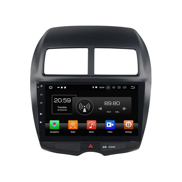 "4GB RAM 64GB ROM 2 din Android 8.0 Octa Core 10.1"" Car DVD GPS for Mitsubishi ASX 2010 2011 2012 RDS Radio Bluetooth WIFI Mirror link"