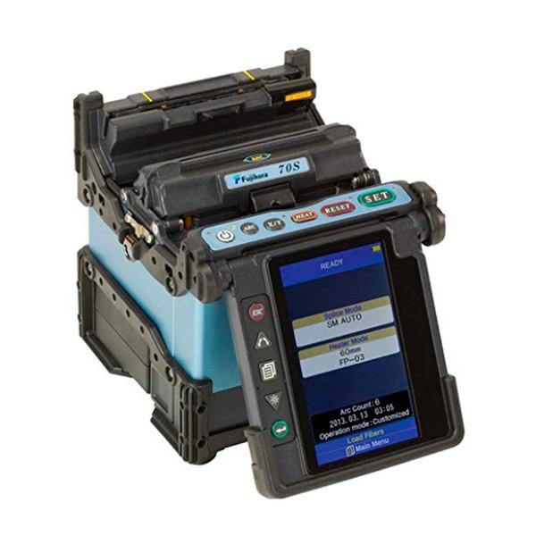 Tempo di riscaldamento della giuntatrice monomodale Fujikura 70S 14 secondi LCD antiriflesso a colori rotanti 4.73