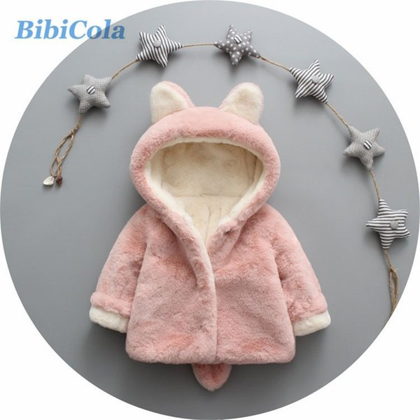 good qulaity Baby Girl Jacket Winter Warm Coat Children Clothes For Winter Kids Clothing Infant Clothes Bebe Thicken Coat/Jacket